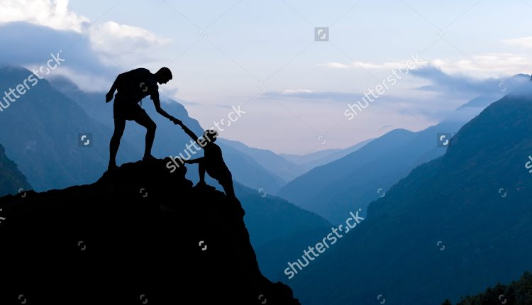 stock-photo-teamwork-couple-helping-hand-trust-assistance-silhouette-in-mountains-sunset-team-of-climbers-man-279435734
